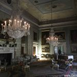 candled led candles at the national trust site saltram house