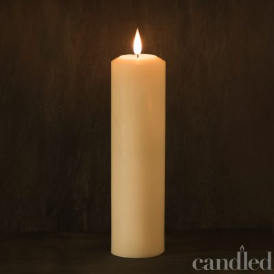Candled Pillar