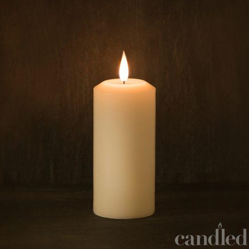 Candled Pillar