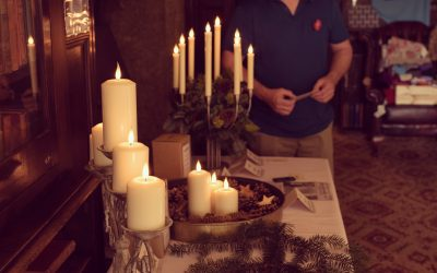 """Candled attends """"MRS MURRAY'SANNUAL CHRISTMAS FAIR"""" in aid of the deserving charityDevon Air Ambulance."""