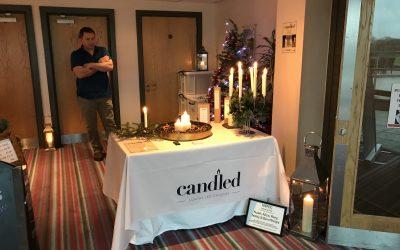 Candled attend St Mellion Christmas Fair